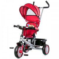 Chipolino - Tricicleta cu sezut reversibil Twister Red