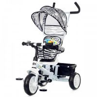 Chipolino - Tricicleta cu sezut reversibil Twister White