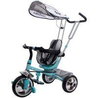 Tricicleta convertibila Sun Baby Super Trike turcoaz