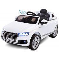 Caretero - Masinuta Toyz AUDI Q7 12V cu telecomanda White