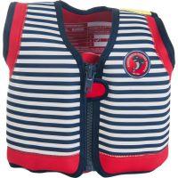 Konfidence - Vesta inot copii cu sistem de flotabilitate ajustabil The Original blue stripe 4-5 ani