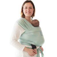 Wrap elastic pentru purtarea bebelusului Manduca mint