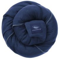 Wrap elastic pentru purtarea bebelusului Manduca navy