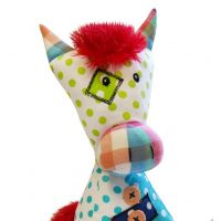 BoboBaby patchwork jucarie plus - cal