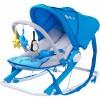 Caretero - Fotoliu balansoar Aqua blue