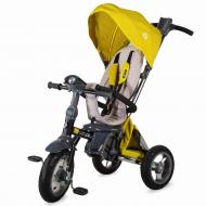 Tricicleta pliabila 4in1 cu sezut reversibil Coccolle Velo Air Mustar