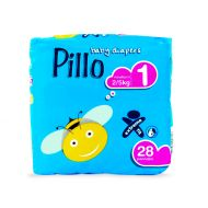 Pillo - Scutece copii Newborn 2-5 Kg