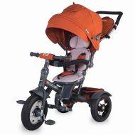 Coccolle - Tricicleta spatar reglabil si reversibil Giro Plus Caramiziu