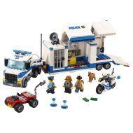Lego City Police Centru de comanda mobil L60139