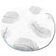 Perna anticolici cu samburi cirese, Kidizi Mint Feathers, 19 cm