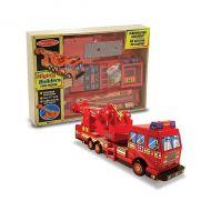Melissa&Doug - Construieste o masina de pompieri