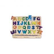 Melissa&Doug - Puzzle lemn cu sunete Alfabet