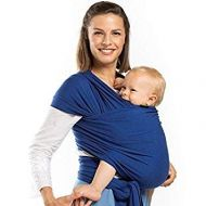 Boba - Wrap elastic din bambus pentru purtatea bebelusilor Dark blue