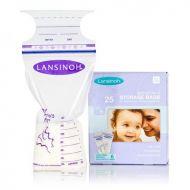 Lansinoh - Pungi de stocare lapte matern 25 buc