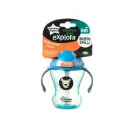 Tomme Tippee - Cana Explora Easy Drink cu Pai 230 ml