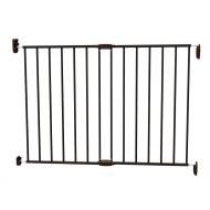 Poarta de siguranta extensibila din metal negru Noma 62 - 102cm