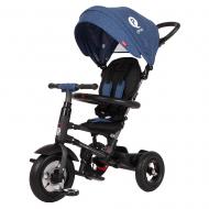 Tricicleta pliabila cu roti gonflabile Qplay Rito AIR Albastru