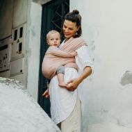Boba - Wrap elastic din bambus pentru purtatea bebelusilor Bloom