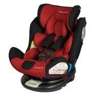 Babysafe - Scaun auto rotativ cu Isofix 0-36 kg Labrador Red, rear-facing prelungit