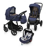 Carucior Multifunctional 3 in 1 Lupo Comfort Baby Design Navy