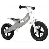 Caretero - Bicicleta de lemn fara pedale Velo Grey