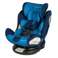 Babysafe - Scaun auto rotativ cu Isofix 0-36 kg Labrador Blue, rear-facing prelungit