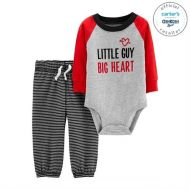 Set 2 piese body si pantaloni de Valentine's Day Carters