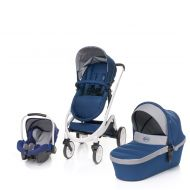 Carucior 3 in 1 Cosmo Navy Blue 4Baby