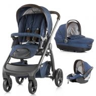 Carucior Chipolino Aura 3 in 1 blue indigo