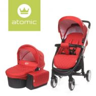Carucior 2 in 1 Atomic Red 4Baby