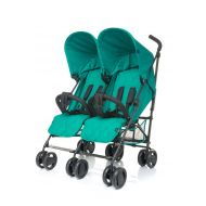 Carucior gemeni Twins Turquoise 4Baby