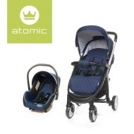 Carucior Travel System Atomic Navy Blue 4Baby