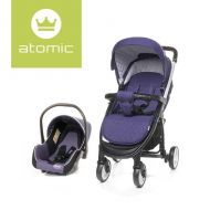 Carucior Travel System Atomic Purple 4Baby