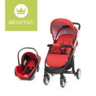 Carucior Travel System Atomic Red 4Baby