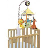 Carusel muzical cu oglinda multicolor Infantino