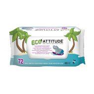 Attitude - Servetele umede  biodegradabile 72 buc