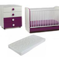 Bebe Design  - Patut Clasic Confort + Comoda + Saltea