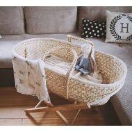 Cosulet bebe pentru dormit handmade din material ecologic Ahoj Baby natur