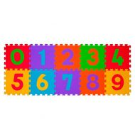 Baby Ono - Covoras puzzle 10 piese cifre