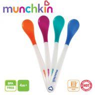 Munchkin - Set 4 lingurite cu sensor de temperatura