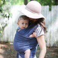 Boba - Wrap elastic pentru purtarea bebelusilor Limited Edition Vintage Blue