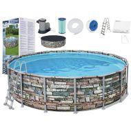 Piscina rotunda cu cadru metalic Bestway Power Steel 488x122cm, 11 in 1, toate accesoriile incluse