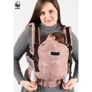 Isara Marsupiu ergonomic bumbac organic The One Wildlife terra