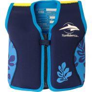 Konfidence - Vesta inot copii cu sistem de flotabilitate ajustabil The Original blue palm 4-5 ani