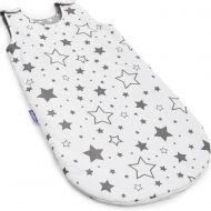 Jukki - Sac de dormit bebelusi 0-1 ani Grey stars