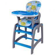 Kidscare - Scaun de masa multifunctional albastru