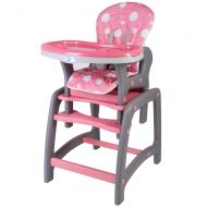 Kidscare - Scaun de masa multifunctional roz