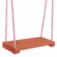 Leagan din lemn pentru copii  Springos, 42 x 18 cm, greutate maxima suportata 40 kg