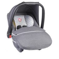 Lionelo - Scaun auto copii 0-13 Kg Noa Plus Grey Scandi