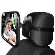 Oglinda auto retrovizoare pentru copii cu fixare pe tetiera